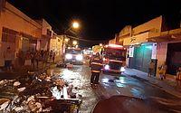 Incêndio atinge livraria no Centro de Maceió