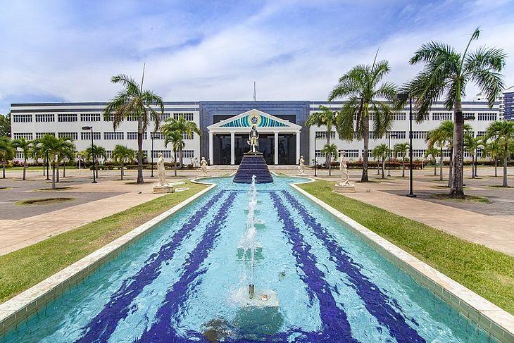 Reitoria da Unit Sergipe, no Campus Farolândia, em Aracaju