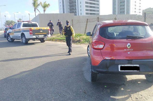 Coronavírus: 299 veículos são autuados por descumprirem decreto
