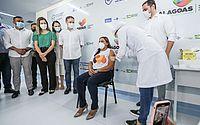 Mais de 500 trabalhadores da Saúde recebem a primeira dose da vacina contra a Covid-19