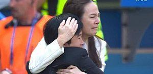Após sofrer 17 gols seguidos, Tailândia marca e leva diretora às lágrimas
