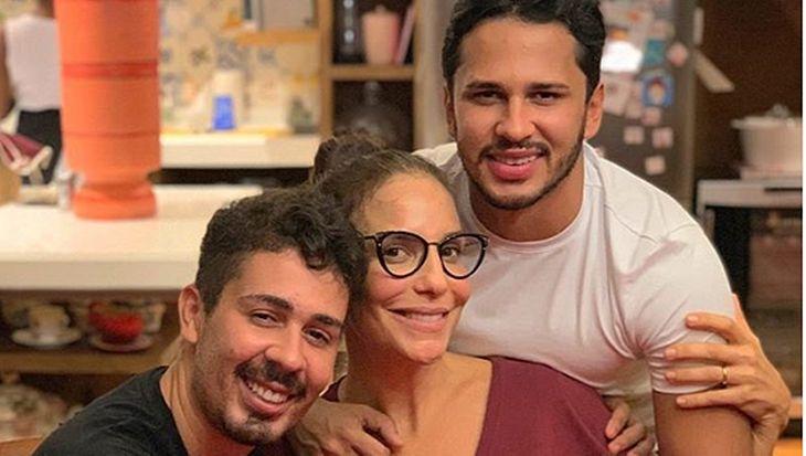 Carlinhos Maia, Ivete Sangalo e Lucas Guimarães