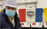 Avião com vacinas chega ao Aeroporto Zumbi dos Palmares às 16h45 desta segunda-feira