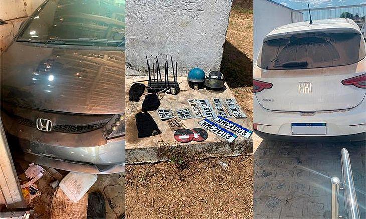 Vários veículos com queixa de roubo foram encontrados durante operação no Agreste alagoano