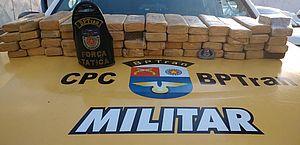 Polícia apreende 34 quilos de maconha no Benedito Bentes