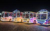 Ônibus de Maceió recebem decoração natalina; veja imagens
