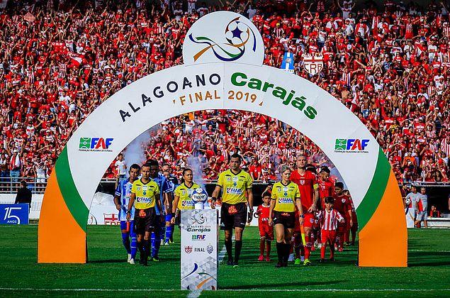 Alagoano 2019: final entre CRB e CSA registra 13.609 torcedores no Rei Pelé