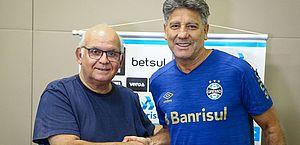 Grêmio confirma renovação com Renato Portaluppi para 2021