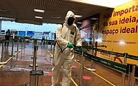 Exército realiza nova desinfecção no Aeroporto Internacional Zumbi dos Palmares