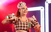 Márcia Fellipe perde a voz antes de apresentação na Paraíba