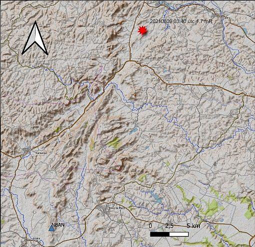 Tremores foram registrados em Pão de Açúcar e Cajueiro no interior do estadoe