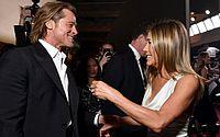 Reencontro de Brad Pitt e Jennifer Aniston em premiação agita a web