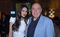 A apresentadora Daniela Albuquerque e o empresário.