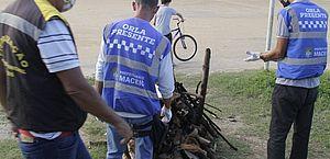 Fiscalização apreende lenha e fogos durante o São João em ação de combate à covid-19