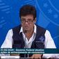 Ministro atualizou os dados em coletiva no Palácio do Planalto