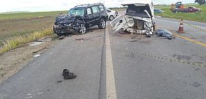 Motorista de Pajero que se envolveu em acidente com Kombi é preso pela PRF