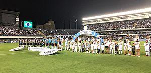 Santos diz investigar ofensa racista relatada por atleta do Ceará; Vozão se manifesta