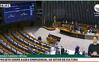 Em sessão virtual, Câmara dos Deputados vota pela aprovação do PL 1075/2020