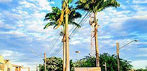 Entrada da cidade de Campo Grande, no interior de Alagoas