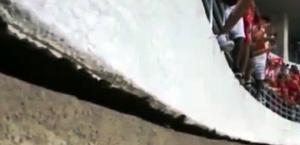 Vídeo que mostra 'tremor' em arquibancada do Rei Pelé preocupa torcedores; assista