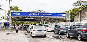 Prefeitura mantém vacinação contra Covid-19 neste feriado de Tiradentes