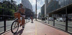 Centro histórico de SP tem ruas fechadas no Dia Mundial sem Carro