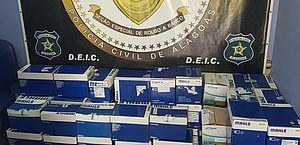 Presos suspeito de roubar compressores, no Recife, avaliados em R$ 80 mil
