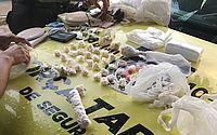 Homem é preso com mais de mil pedras de crack em Palmeira dos Índios