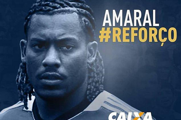 Amaral comemora acerto com o CSA e espera grande temporada em 2019