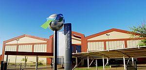 No Centro de Convenções, as estruturas começarão a ser erguidas na próxima semana