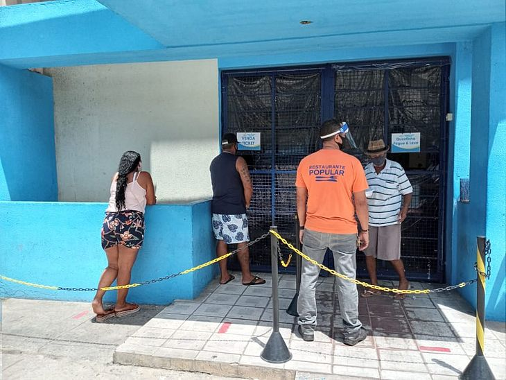 Restaurante Popular estará fechado no dia 7 de setembro
