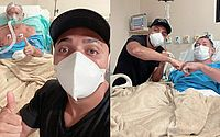 Tirullipa visita sogro hospitalizado por AVC: 'Milagre é apenas uma das especialidades de Deus'