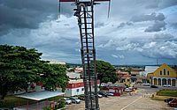 A 40m de altura, Corpo de Bombeiros realiza ação musical nesta segunda em Maceió