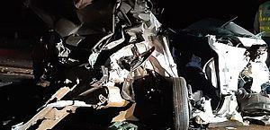 Motorista é preso por suspeita de dirigir embriagado e provocar engavetamento de 9 veículos