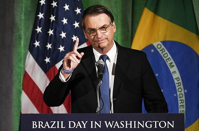 Bolsonaro: 'Não teremos só laços de amizade com os EUA, mas negociações'