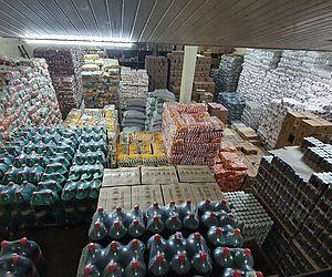 Mercadorias foram apreendidas por agentes de segurança