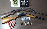 Homens são presos com armas, veículos e combustíveis ilegais no RN