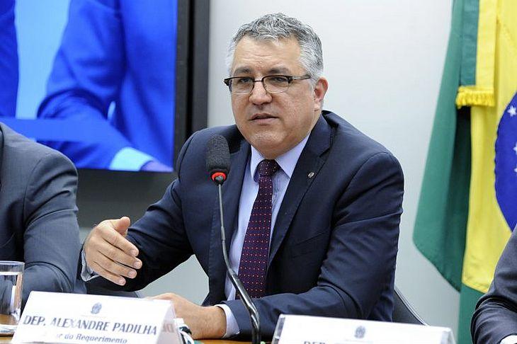 Deputado Alexandre Padilha, relator do projeto