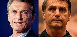 Em visita oficial, presidente argentino é recebido no Planalto por Bolsonaro