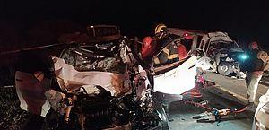 Vídeo: grave acidente em Maravilha termina com um morto e oito feridos