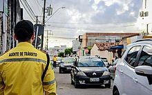 Agentes da SMTT reforçarão esquema de trânsito durante o segundo turno das Eleições 2018.