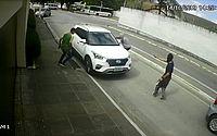 Vídeo mostra tentativa de assalto a familiares de ex-prefeito de São José da Laje