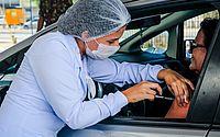 Influenza: drive-thru imuniza quase 4 mil usuários em três dias