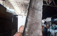 Queda de calha assusta feirantes no Mercado da Produção, em Maceió