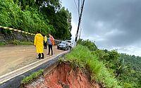 Defesa Civil interdita parcialmente ladeira de Fernão Velho