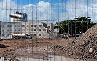 Começa nova etapa de demolições de prédios no bairro do Pinheiro