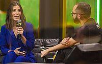 Sandra Bullock, atriz do filme Bird Box, durante coletiva de imprensa na Comic Con Experience em São Paulo