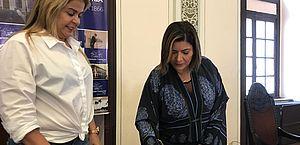 Ana Hora é efetivada como vereadora na vaga de Silvânio Barbosa