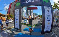 Centenas de triatletas se destacam na primeira etapa do Circuito Ôxe de Triatlo