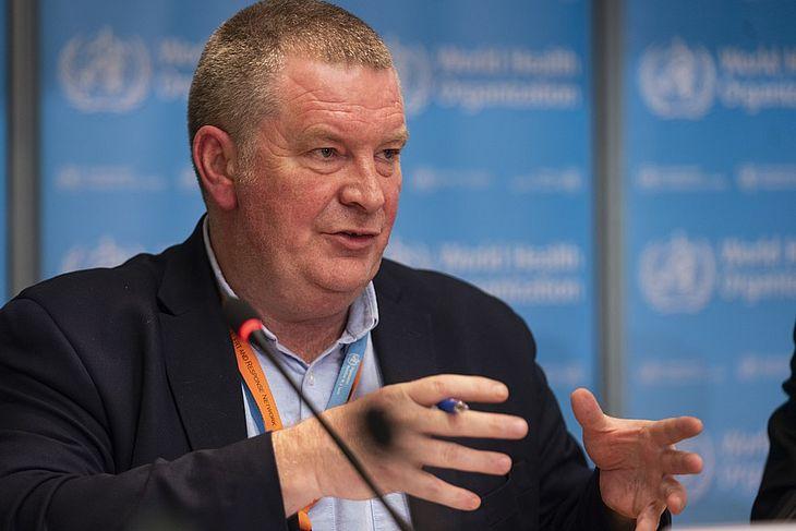 Michael Ryan, diretor-executivo do programa de emergências da Organização Mundial da Saúde (OMS)